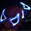 New Design Kids Novelty Cartoon Toy Spider Man Flashing Mask Led Mask Flashing Toy COS Play