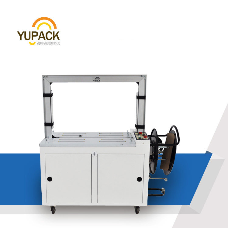 High Performance Automatic Bundle Strapping Machine with PLC control system