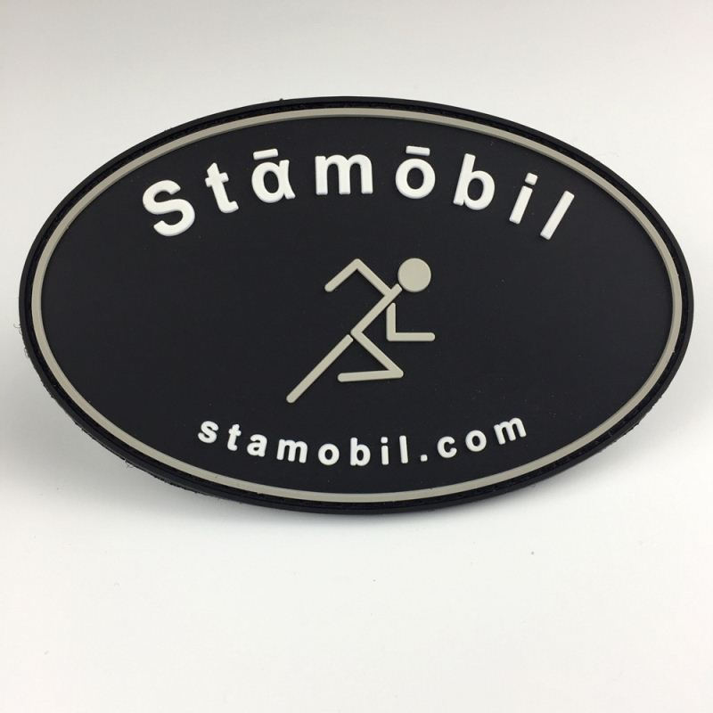 Fashion Custom 3D Metal Soft Silicone Rubber PVC Patches with High Quality