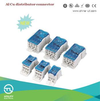 Al Cu Distributor Terminal Connector / Terminal Block 50mm 95mm ...