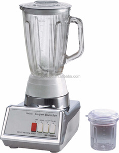 Hot Sale kitchen appliance Deluxe Metalic Body Glass Jar national Blender