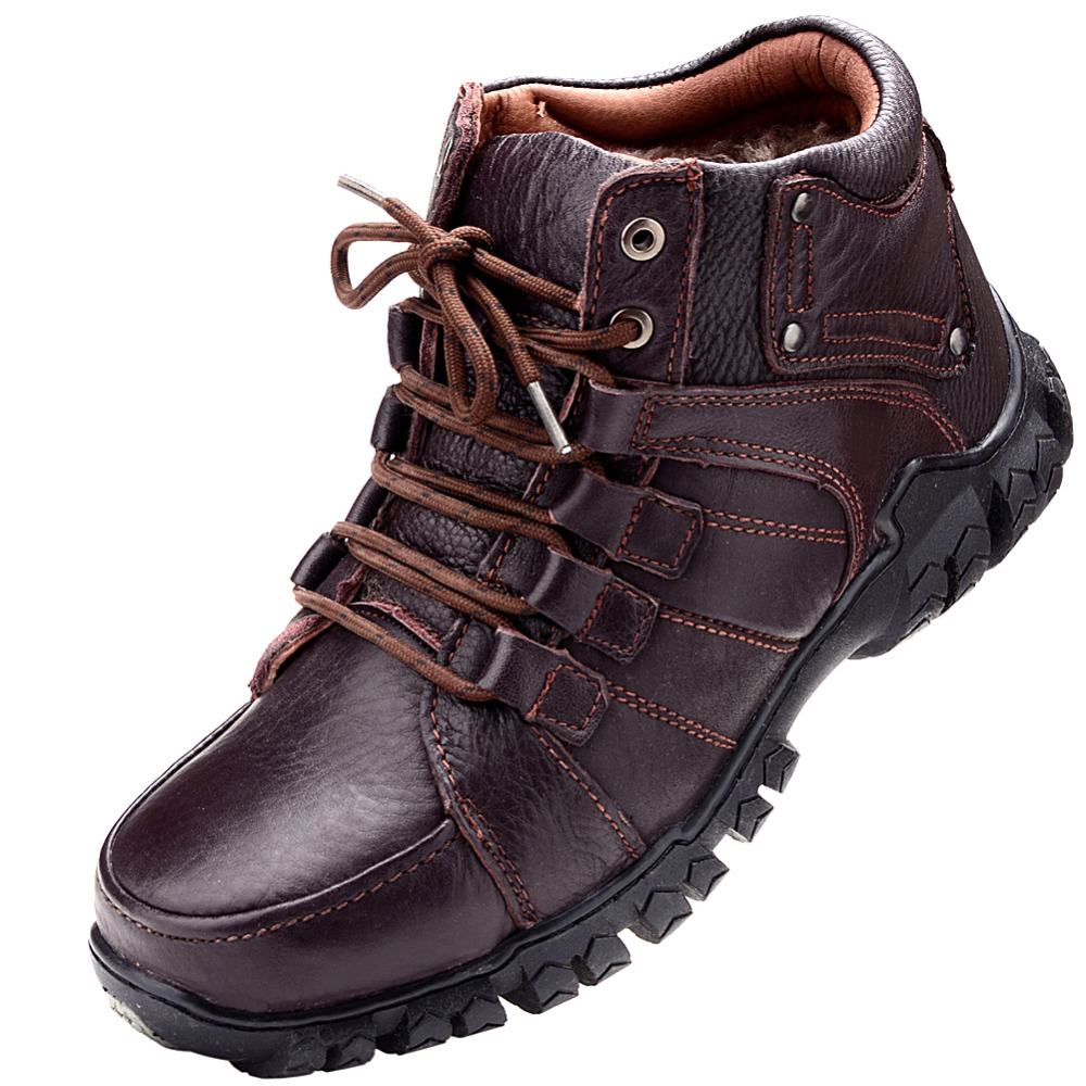 2016 Winter Boots New Stylish Men's OutDoor Shoes,Lace Up