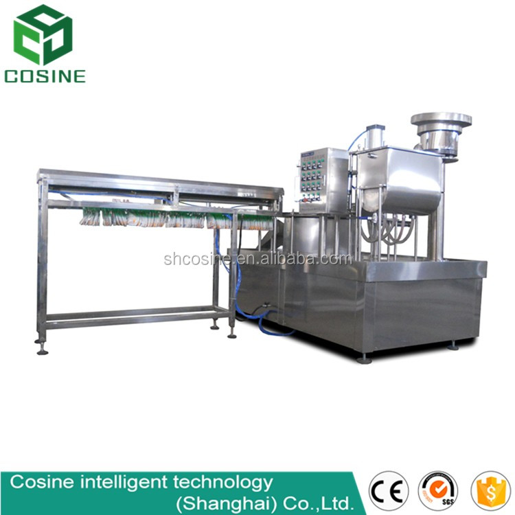 milk and juice filling and sealing machine