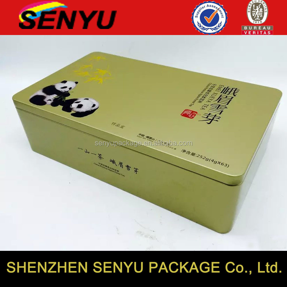 Pencil Storage/Tea Packaging Metal Storage Tin Box Manufacturer in China