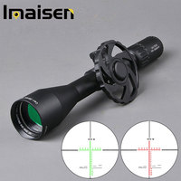HD 20x50 Sight Hunting Scope Tactical Rifle Scope Side Parallax Adjust Big Wheel Sniper Rifle Scope