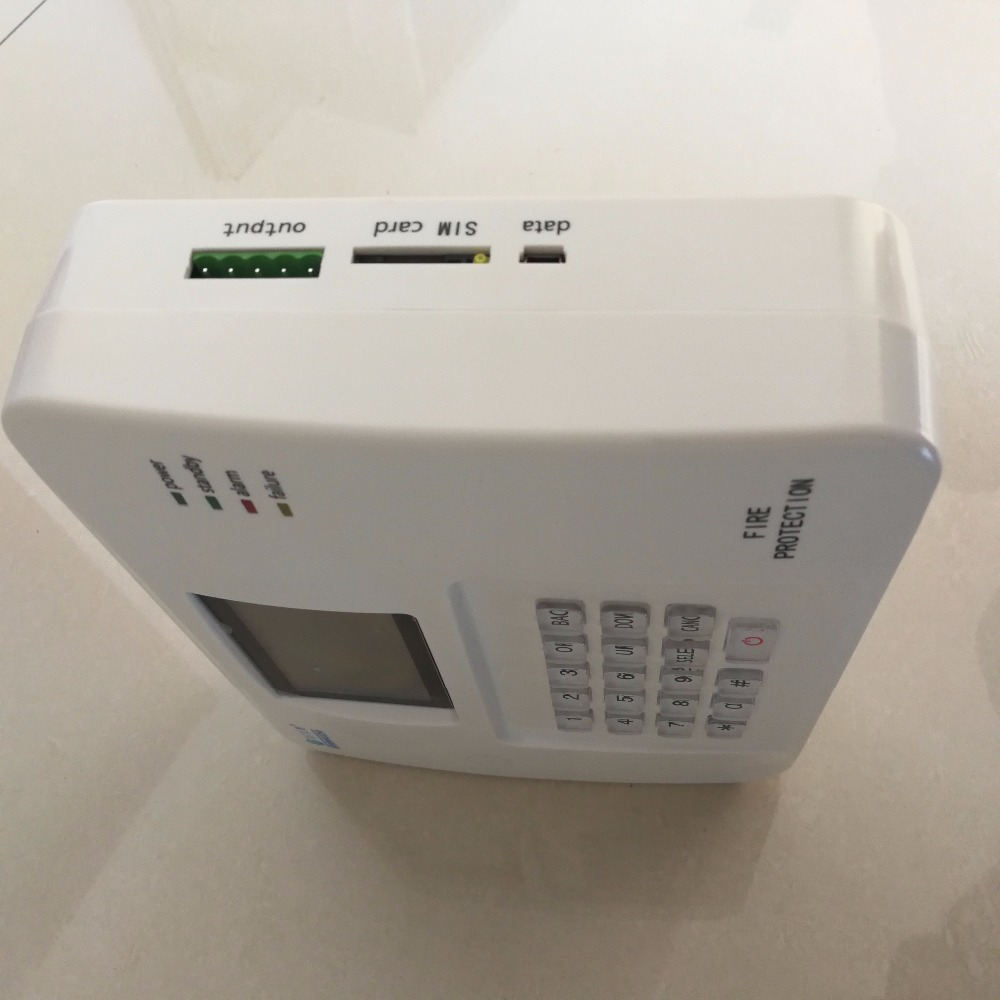 Wireless types of fire alarm systems gsm smoke detection