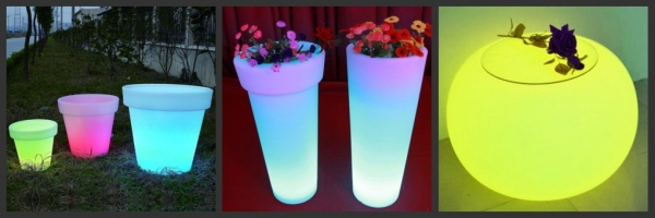 Wedding Decoration Custom Plastic Flashing LED Cup LED red wine cup