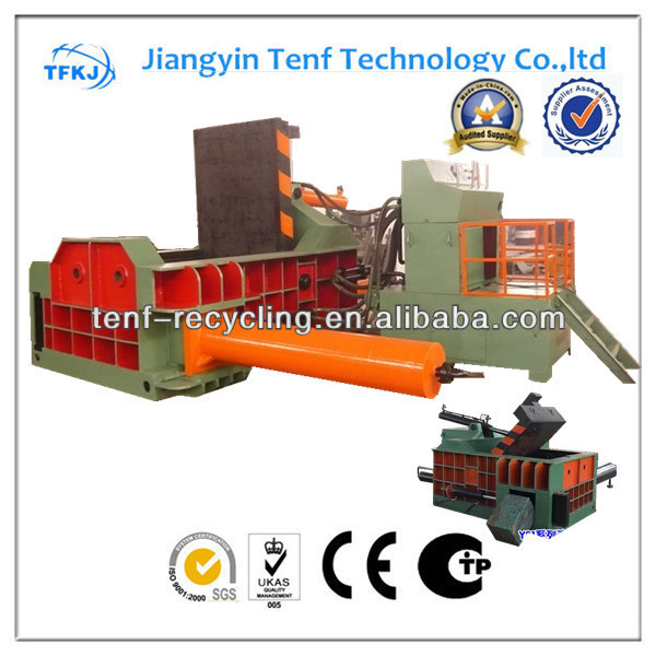 Y81T-1600A scrap metal block making machine CE