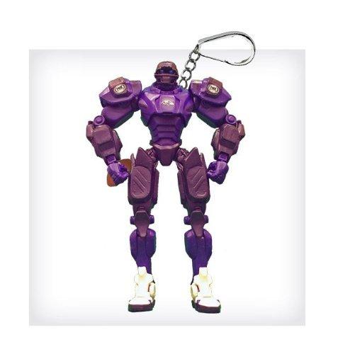 "Baltimore Ravens 3"" Team Cleatus FOX Robot NFL Football Key Chain Version 2.0"