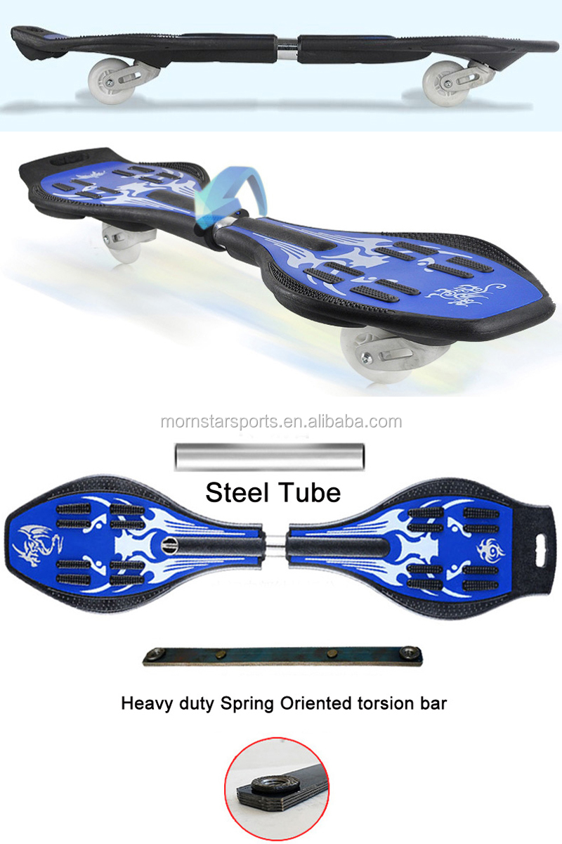 CE 360 degree caster original waveboard skateboard