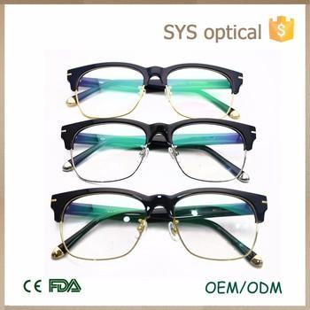 High Quality American Style New Model Metal Half Rim Optical Frames ...