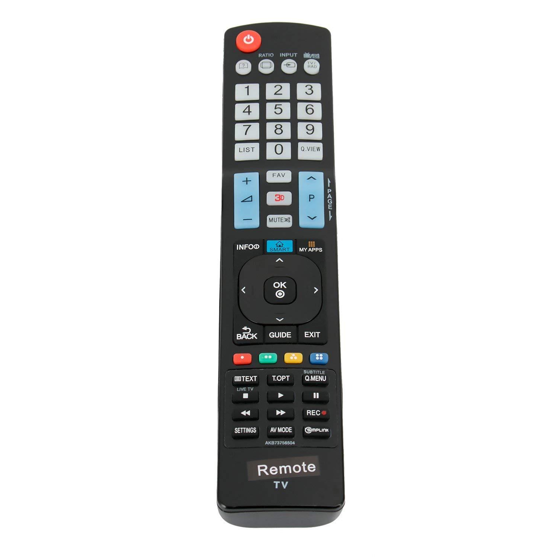 New AKB73756504 Replace Remote fit for LG 3D SMART LCD TV 60LA620S 32LM620T 60LA8600 60PH6700 42LM6410 50PK550 60PK550 AKB73756510 AKB73756502 AKB73615303 AKB73275618