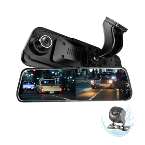 2018 Best Sellers Dual Lens Dash Cam H.264 Rearview Mirror 1080p Manual Car Camera Hd Digital Video Recorder