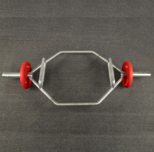 Equipment Chrome Weightlifting Hex Trap Barbell Bar