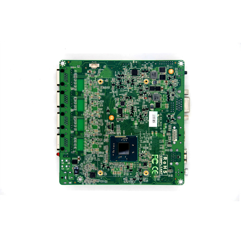 OEM/ODM nano ITX industrial Motherboard Celeron J1800 4 lan port Suitable For Video Player,All In One Machine,ATM,TV BOX