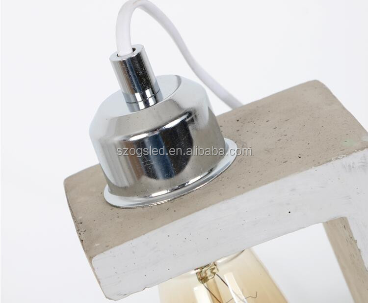 Wholesale Modern Nordic cement pendant lamp decorative chandeliers