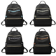 3301 Factory Wholesale waterproof ladies college scool bags nylon backpack for woman