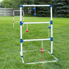 Ladder Toss Jogo Tailgating <span class=keywords><strong>Torneio</strong></span> de Golfe Set w 6 <span class=keywords><strong>bolas</strong></span> + Carry Case