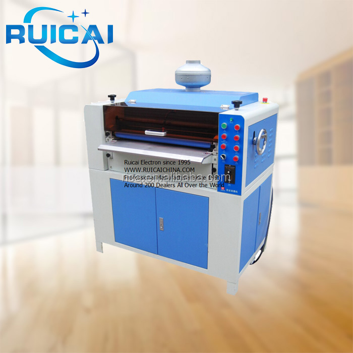 UV vanishing machine with pattern or plain UV Coating Machine