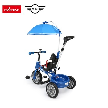 RASTAR MINI folding bike 3-in 1 baby tricycle with three wheels bicycle bike