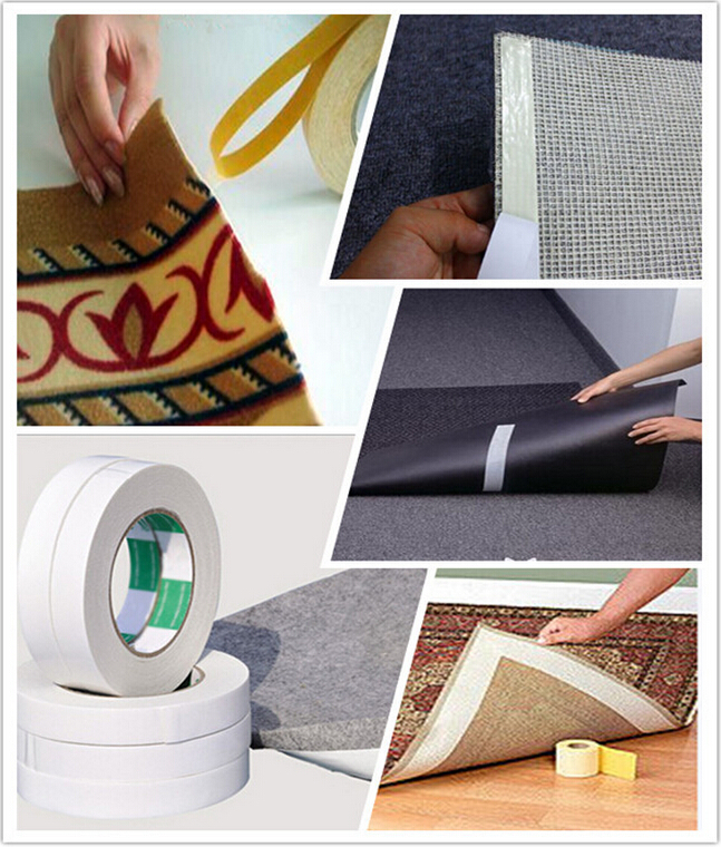 No Residue Double Sided Carpet Joint Tape For Exhibition