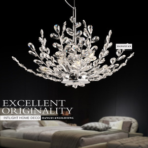 Bedroom, lobby, aisle, entrance, dining room, European style modern Chandelier lamp