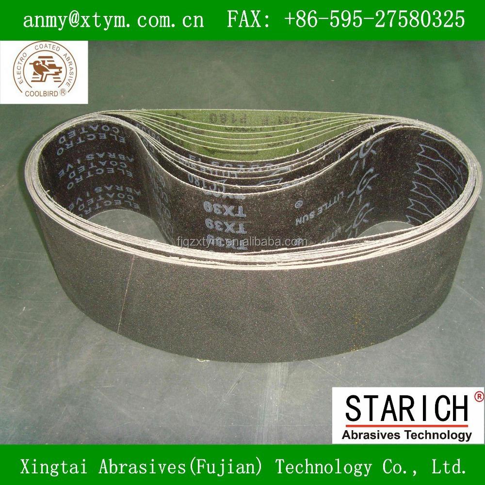 Tx39 Silicon Carbide Abrasive Sanding Band With Little Sun Brand ...