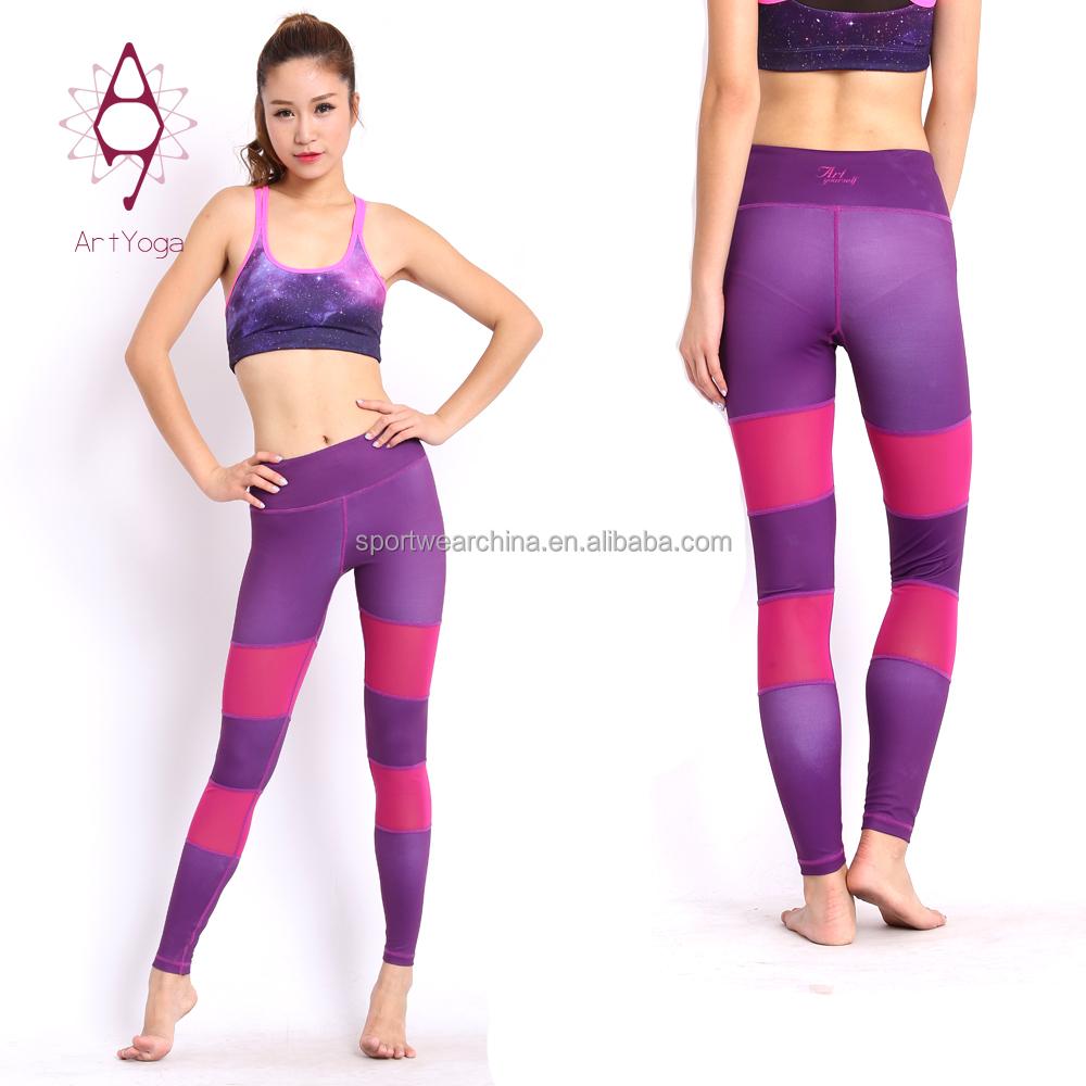 Fashional sublimation sport gym tight yoga leggings