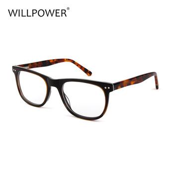 f20640520a NewestTortoise Acetate optical frame CE FDA custom reading glasses with  fashion style