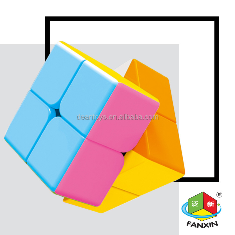 Small parcel!! Candy color !2X2X2 magic cube(5.0CM) for education and fun 27pieces/parce!!