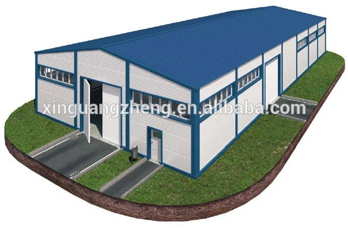 High quality and low price cost of warehouse construction