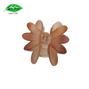 High quality plastic flower hair section clips with different color