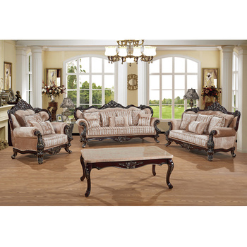 S1322 China Manufacture Hotel Furniture American Style Considerate 1 2 3 Sofa Set Living