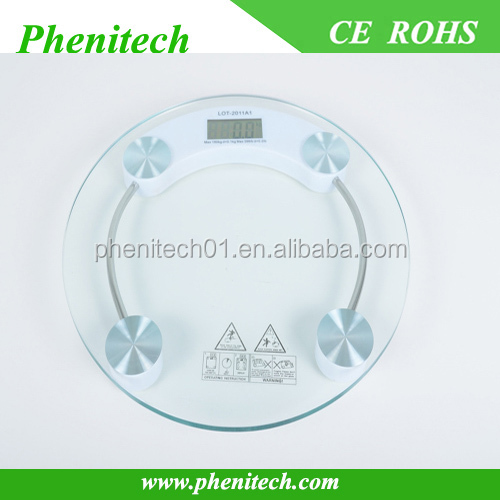 New design Digital mechanical bathroom weighing scale