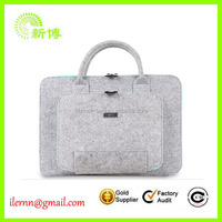 ladies fancy bags wool felt non woven woman hand bag