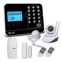 New Products Wifi GSM 3G Burglar Home Alarm System for Personal Alarm Wireless Security Home Alarm