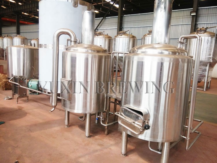 Hotel restaurant used micro brewery equipment electric for Craft kettle brewing equipment