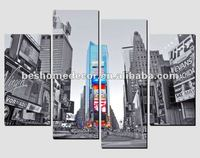 set 4 pop art,Times Square art painting,buy canvas for ebay shop