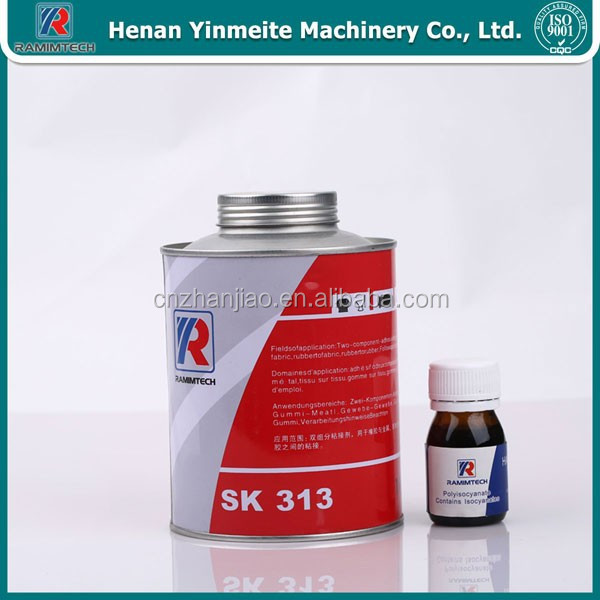 Rubber belt silicone glue for fabric conveyor belt repair
