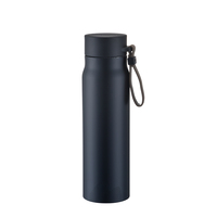 17oz Double wall stainless steel flask vacuum insulated water bottle hot cool vacuum bottle