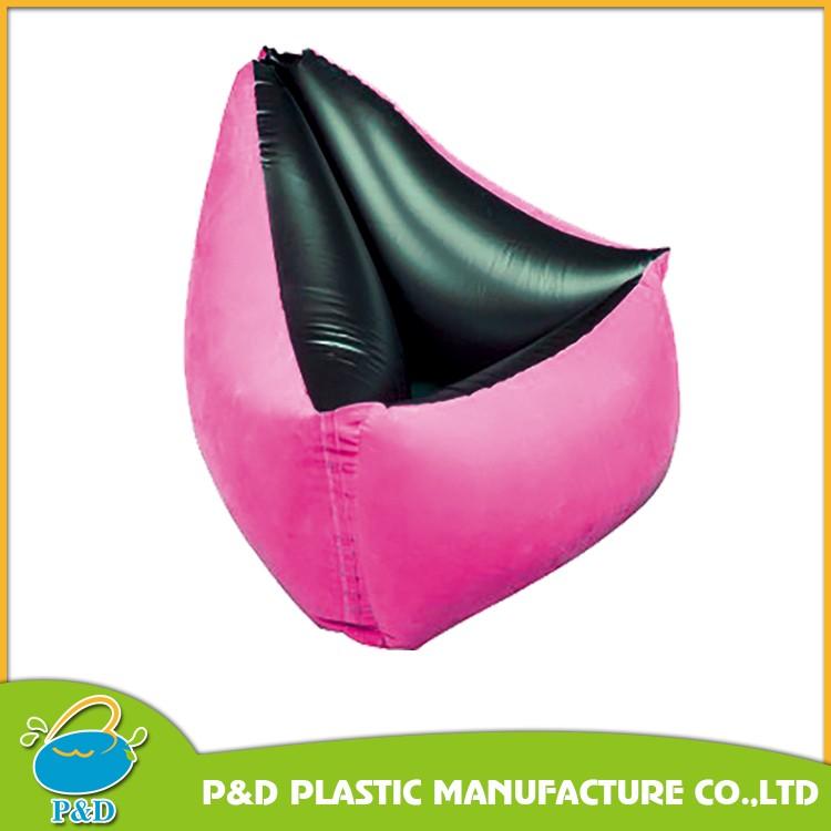 Air Massage Grey Inflatable Sofa