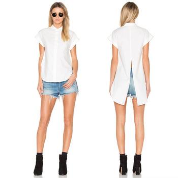 offizieller Preis elegante Form große sorten Feste Weiße Bluse Stilvolle Modelle Kurzarmbluse Frauen Schlichte  Blusendesigns - Buy Weiße Bluse,Modelle Kurzarm Bluse,Plain Bluse Designs  Product on ...