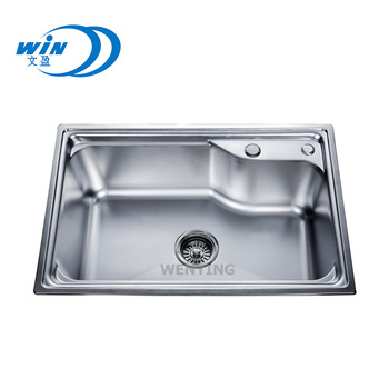 Circular Kitchen Basin Sink Wash Bowl