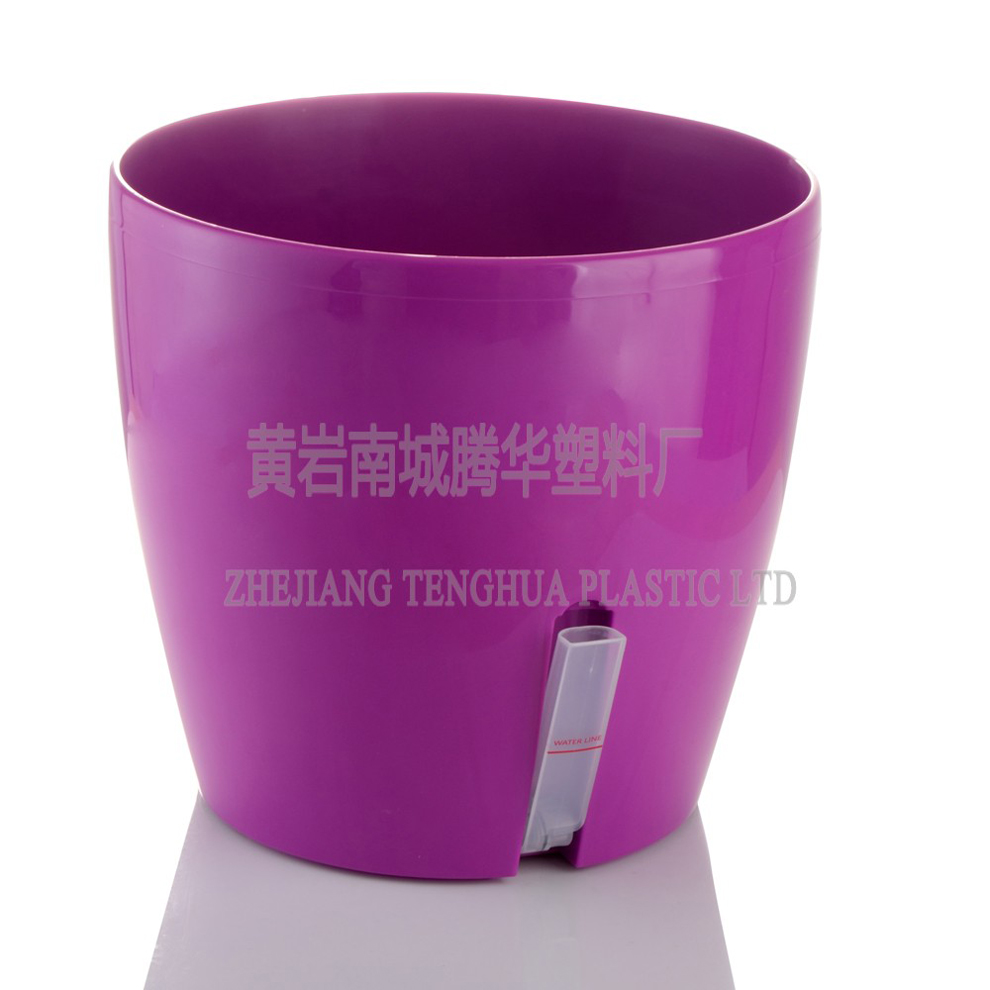 Various Size Outdoor Large Plastic Plant Pots Colorful
