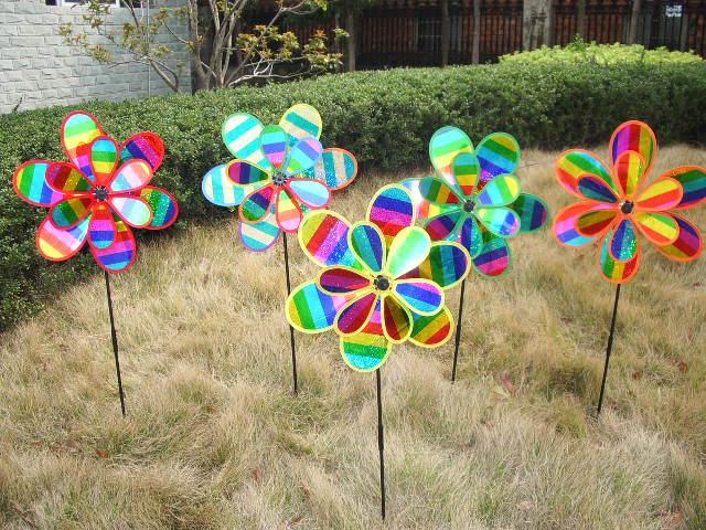 Kids Toy Windmills Garden Ornament New Design Educational Windmill Toy