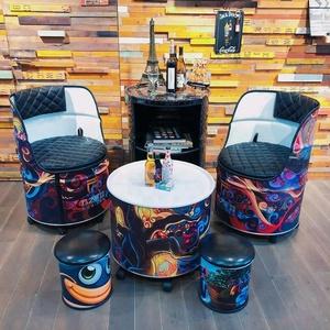 drum furniture 44 gal oil drum furniture wholesale suppliers alibaba