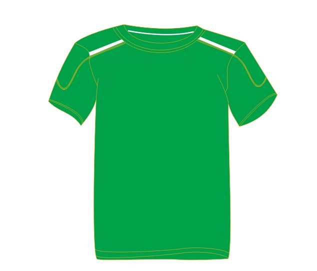 Green round Neck 2014Sport Cool dry Custom supply soccer jersey