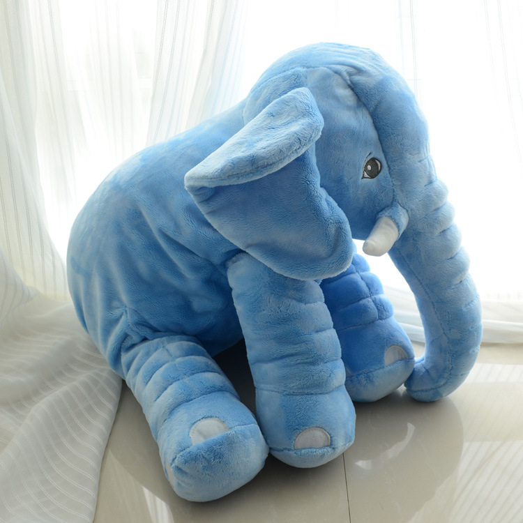 Best Selling Soft Plush PP Cotton Filling Good Quality Elephant Pillow