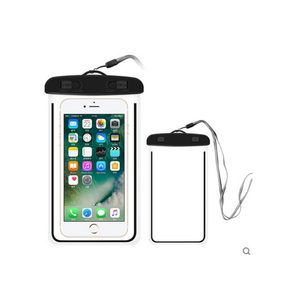 Custom Wholesale Sealed Beach Travel Fashion Cell Mobile Phone Carry Dry Waterproof Phone Bag