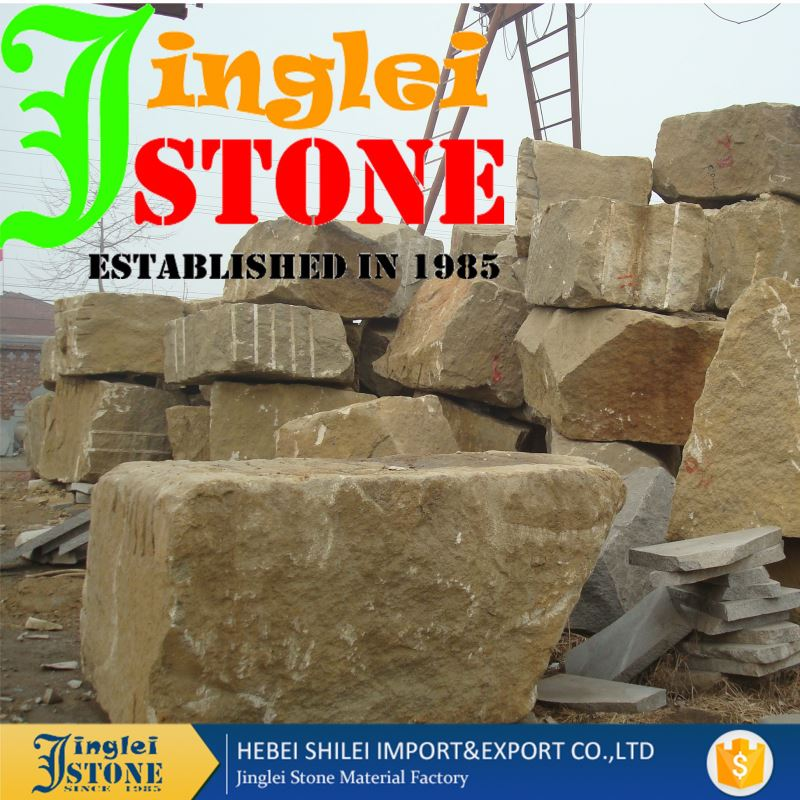 Commercial Cheap Sandstone Slabs Building Blocks For Sale